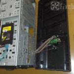 Системный блок ПК со снятой передней панелью