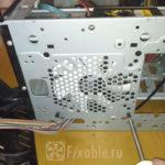 Установка корпусного вентилятора в системном блоке