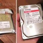 Жёсткий диск Toshiba на на 1 ТБ