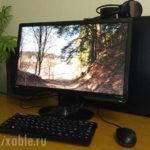 Компьютер с монитором Benq