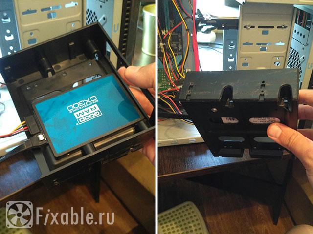Установка SSD накопителя в старый компьютер