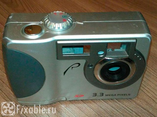 Разбираем цифровой фотоаппарат RoverShot