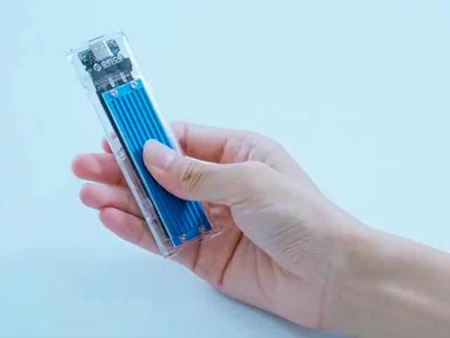 Переходник футляр для M.2 SSD в качестве переносного накопителя