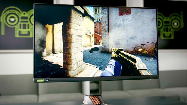 Игра в CS GO на мониторе 360 Гц