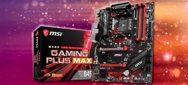 MSI B450 Gaming Max