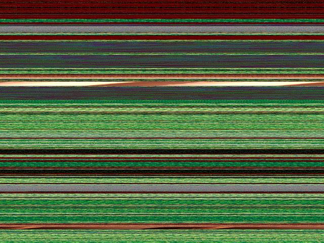 Горизонтальные полосы на мониторе